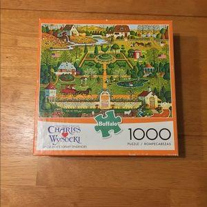 Charles Wysocki Buffalo Games 1000 Piece Puzzle